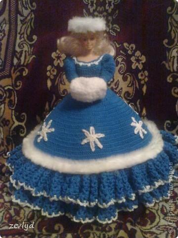 Платье для куклы Барби.  фото 2