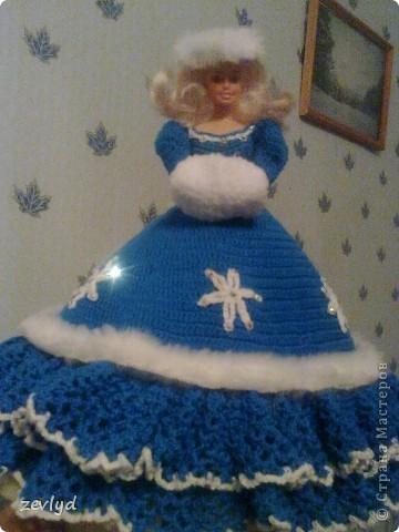 Платье для куклы Барби.  фото 3