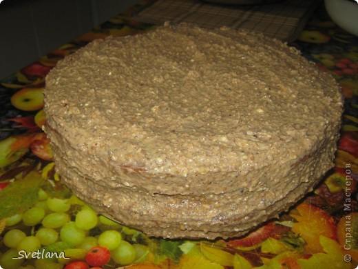 """Здравствуйте, жители Страны Мастеров!!! Вот и я созрела для создания своего Мастер-класса. Хочу поделиться с вами рецептом очень вкусного, моего любимого торта с интригующим названием """"Штирлиц"""". Этот торт в детстве я помогала стряпать маме, а теперь на праздники пеку сама. Всем нравится, надеюсь и вам понравится тоже. фото 16"""