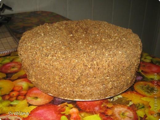 """Здравствуйте, жители Страны Мастеров!!! Вот и я созрела для создания своего Мастер-класса. Хочу поделиться с вами рецептом очень вкусного, моего любимого торта с интригующим названием """"Штирлиц"""". Этот торт в детстве я помогала стряпать маме, а теперь на праздники пеку сама. Всем нравится, надеюсь и вам понравится тоже. фото 17"""