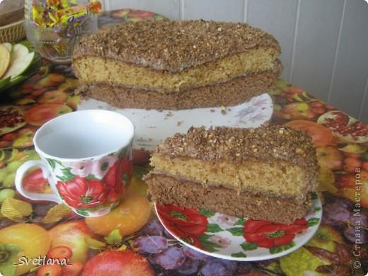 """Здравствуйте, жители Страны Мастеров!!! Вот и я созрела для создания своего Мастер-класса. Хочу поделиться с вами рецептом очень вкусного, моего любимого торта с интригующим названием """"Штирлиц"""". Этот торт в детстве я помогала стряпать маме, а теперь на праздники пеку сама. Всем нравится, надеюсь и вам понравится тоже. фото 20"""