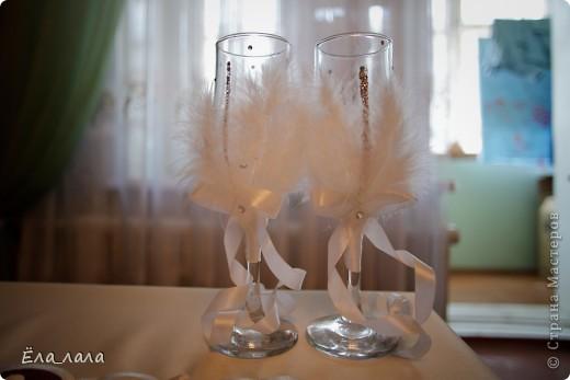 Бокальчики на свадьбу подруге фото 8