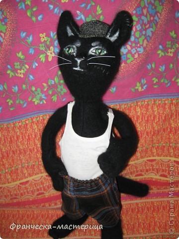Живёт в нашем дворе наглый, драный уличный кот по кличке Юрка. фото 1