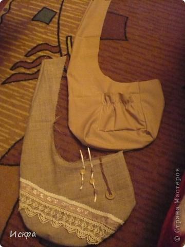 сумка за вечер (из остатков мешковины и сорочечной ткани) фото 3