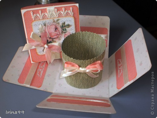 Коробочка сделана на заказ для подруги, как сюрприз. Выбрала свои любимые розы... фото 3