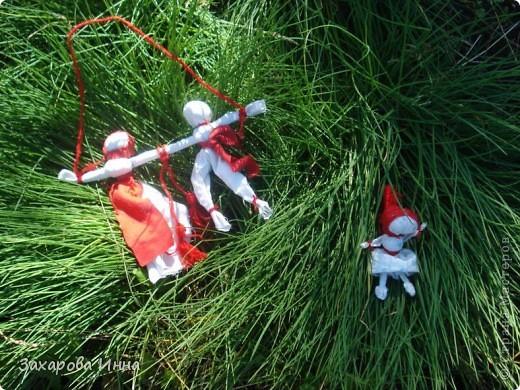 Куклы-закрутки вместе. фото 1