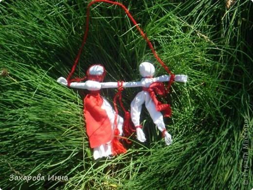 Куклы-закрутки вместе. фото 2