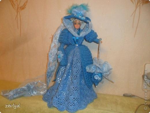 Платье для куклы Барби.  фото 1
