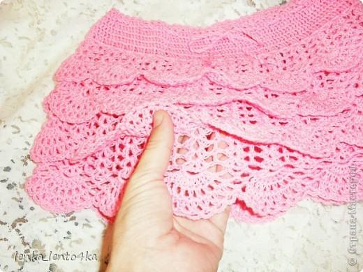 Юбочка для маленькой девочки 1,5-2-х лет.Давно хотела связать эту известную многим японскую юбочку: http://www.liveinternet.ru/users/mailsun/post165770676/ фото 4