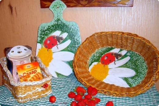 """Набор для кухни в подарок сестре """"летнее настроение"""" фото 1"""