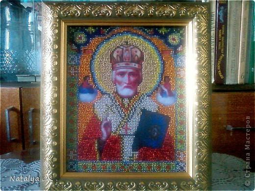"""Икона """" Николай Чудотворец """" . фото 1"""