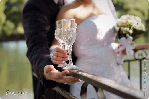 Бокальчики на свадьбу подруге фото 7