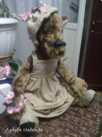 """Медведица""""Цветочница Анюта """" фото 1"""