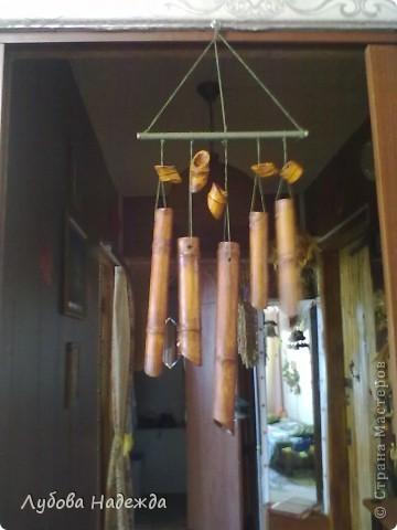 Всё сделано из картонных трубок,что остаются из под клеёнки,москитной сетки,в магазинах их бесплатно отдают! фото 1