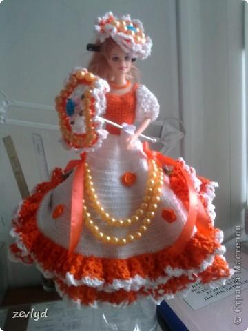 Платье для куклы Барби.  фото 5