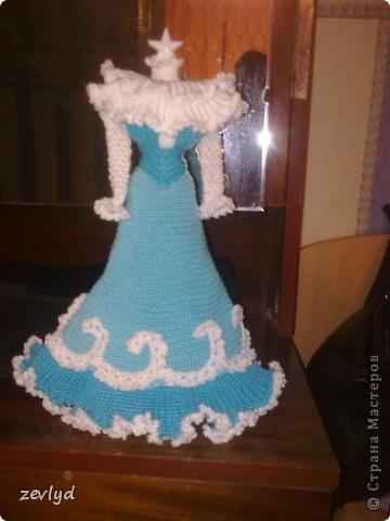 Платье для куклы Барби.  фото 6
