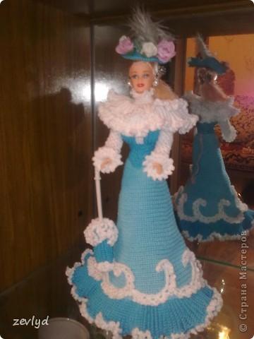 Платье для куклы Барби.  фото 7