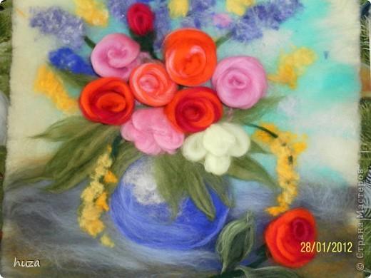 """Картина """"Ваза с цветами"""
