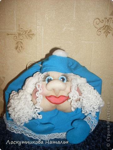 Делала на заказ в подарок Дедушку Мороза и Снегурку)))) фото 2