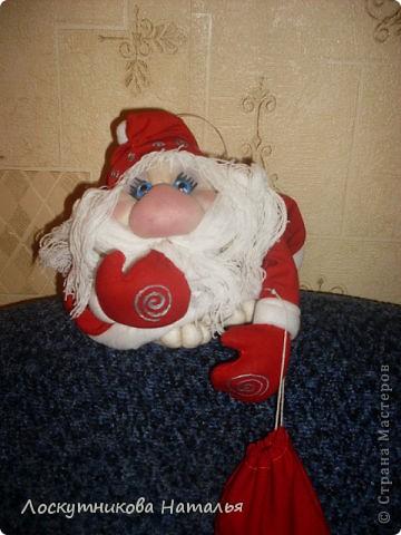 Делала на заказ в подарок Дедушку Мороза и Снегурку)))) фото 3