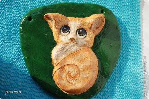 Еще один милый котенок художника  Fabo. Ну уж очень понравился,пришлось лепить и рисовать фото 1