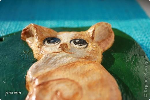 Еще один милый котенок художника  Fabo. Ну уж очень понравился,пришлось лепить и рисовать фото 2