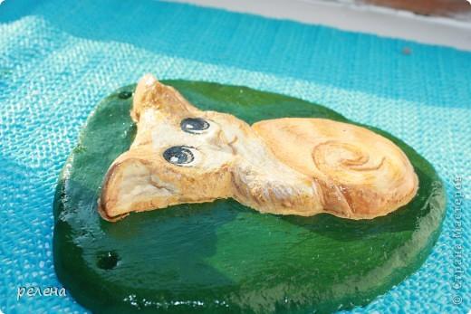Еще один милый котенок художника  Fabo. Ну уж очень понравился,пришлось лепить и рисовать фото 3