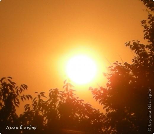 Вот такие закаты бывают в моём городе в ясную погоду... фото 4
