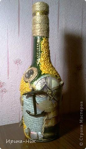 Бутылка со дна морского фото 1
