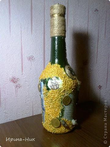 Бутылка со дна морского фото 2
