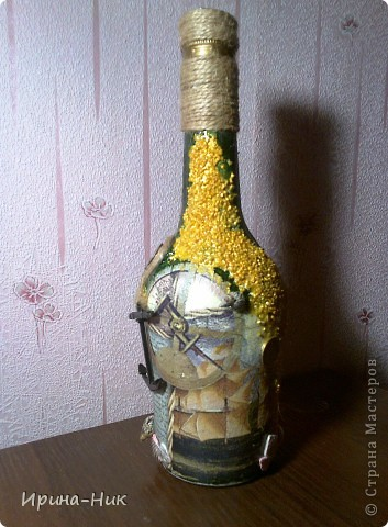 Бутылка со дна морского фото 3