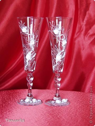 Свадебные бокальчики! фото 2