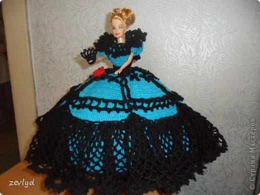 Платье для куклы Барби.  фото 4