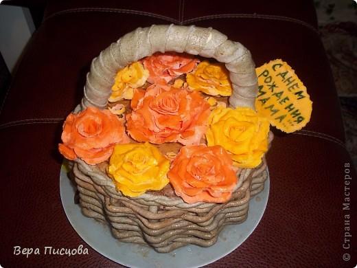 Сметанно-желейный торт. фото 8