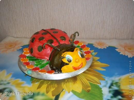 Сметанно-желейный торт. фото 7
