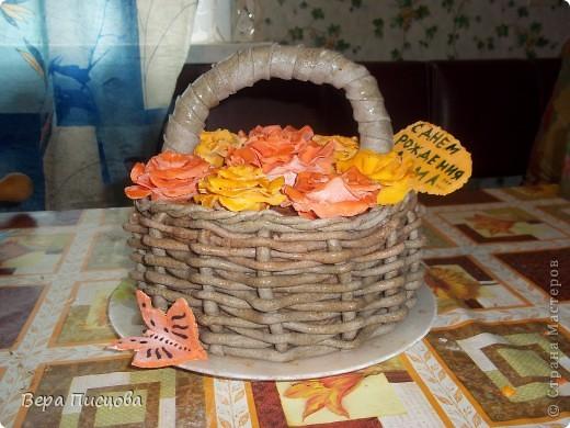 Сметанно-желейный торт. фото 9