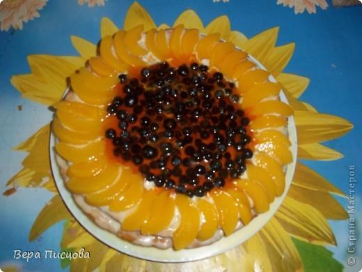 Сметанно-желейный торт. фото 10