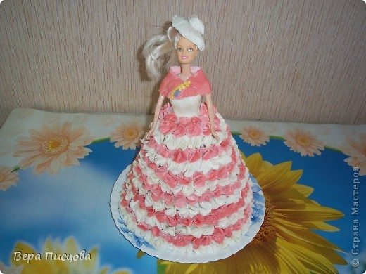 Сметанно-желейный торт. фото 5