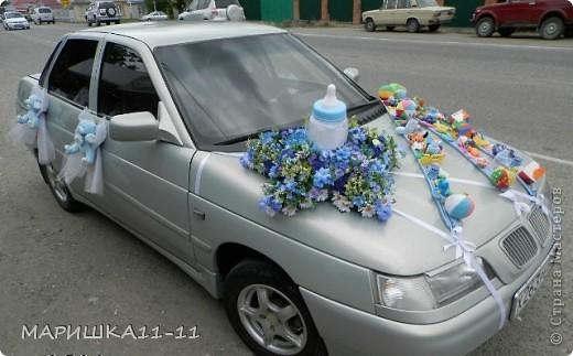Вот такая машина ездила за новым жителем!!!!!
