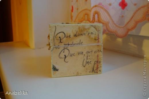 Вид спереди (шкатулочка обклеена рисовой бумагой) фото 4