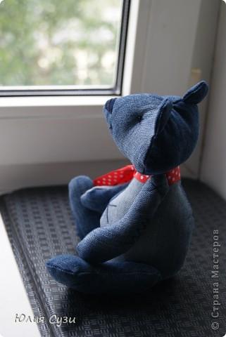 Джинсовый мишка фото 2