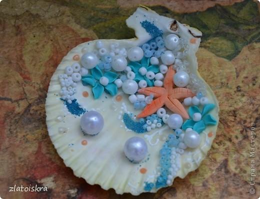 """Добрый день, дорогие жители СМ! Сегодня я к вам с новым свадебным набором """"В синем море, в белой пене..."""" Летом, естественно, очень хочется моря, прохлады и шума волн. Именно морская волна вдохновила меня на создание набора в морском стиле. фото 16"""