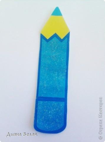 Такие у меня получились закладки в виде карандашей по МК ver. фото 3