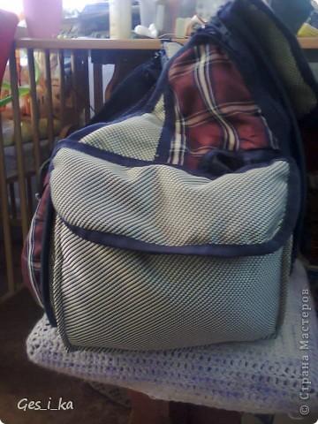 из той же коляски ( http://stranamasterov.ru/node/392914)сшита сумка для переноса собачат.  фото 4