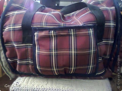 из той же коляски ( http://stranamasterov.ru/node/392914)сшита сумка для переноса собачат.  фото 5