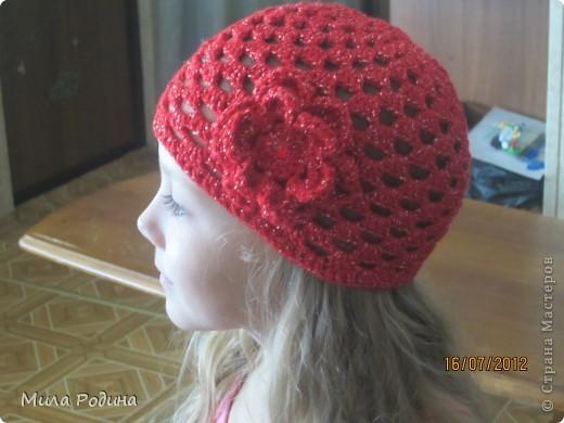 Вязаные шапочки фото 6