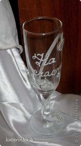 Мои первые бокальчики брату в подарок на свадьбу фото 4