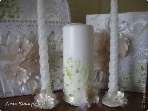 Очередной набор, сделанный на заказ.Невесте очень понравился!Мне, если честно, тоже:) фото 9