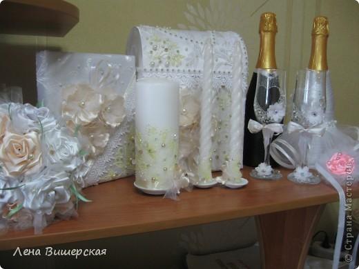 Очередной набор, сделанный на заказ.Невесте очень понравился!Мне, если честно, тоже:) фото 1