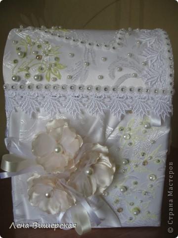 Очередной набор, сделанный на заказ.Невесте очень понравился!Мне, если честно, тоже:) фото 4